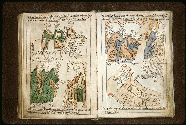Bible en images - Mages chevauchant_0