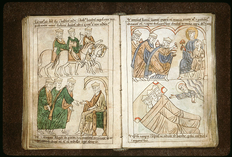 Bible en images - Visite des Mages à Hérode_0