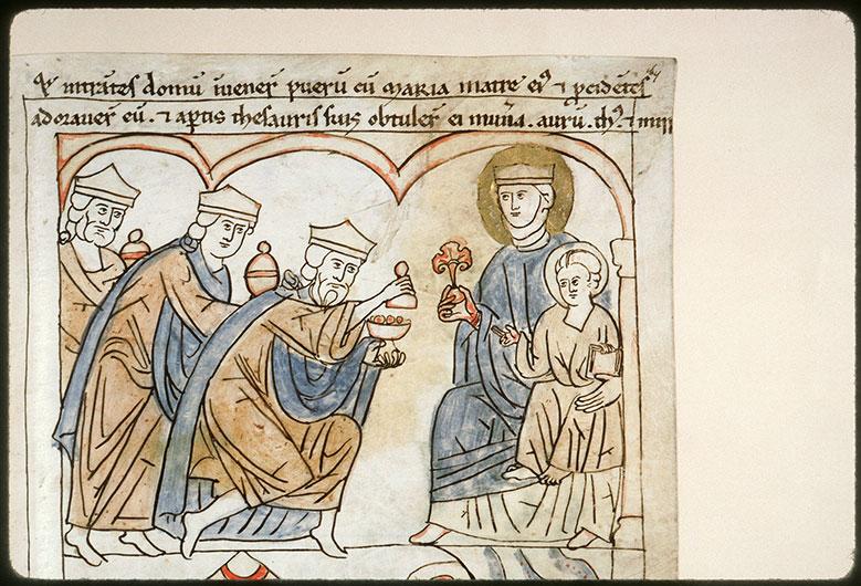 Bible en images - Adoration des Mages_0
