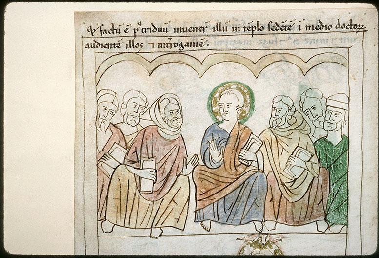 Bible en images - Jésus et les Docteurs_0
