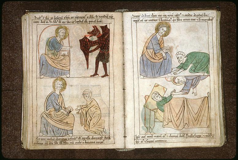 Bible en images - Tentation du Christ_0