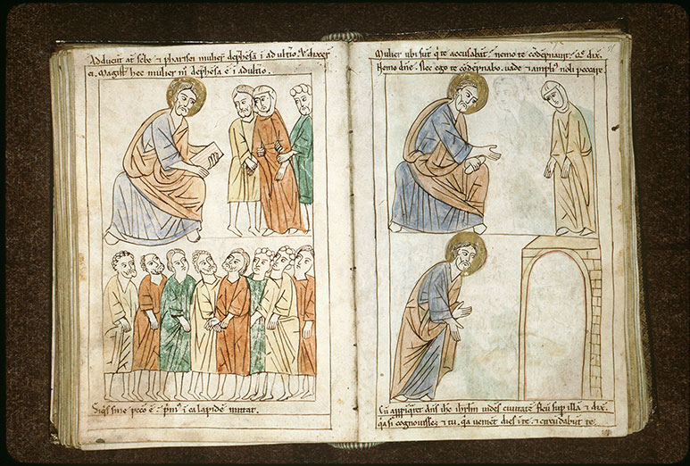 Bible en images - Femme adultère (La)_0