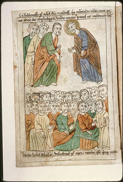 Bible en images - Multiplication des pains (La)_0
