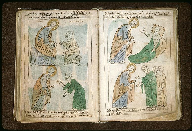Bible en images - Guérison de l'infirme de la piscine de Béthesda_0