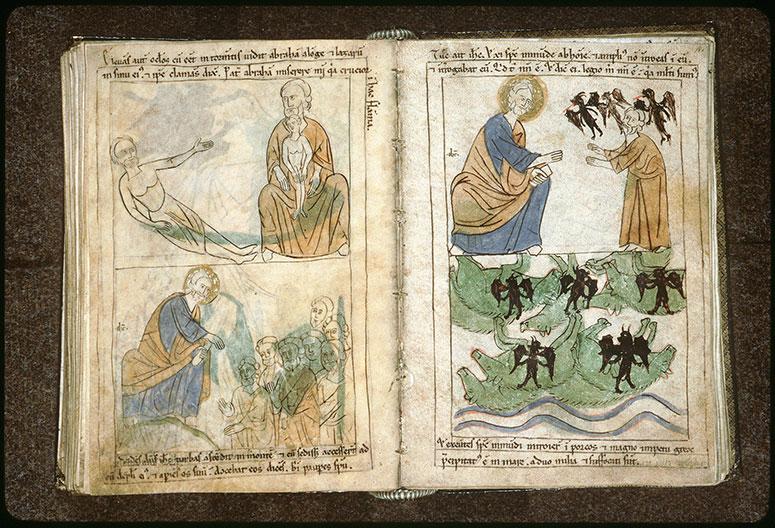 Bible en images - Guérison du possédé de Gadara_0
