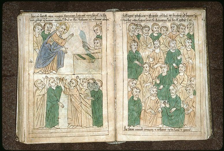 Bible en images - Résurrection de Lazare_0