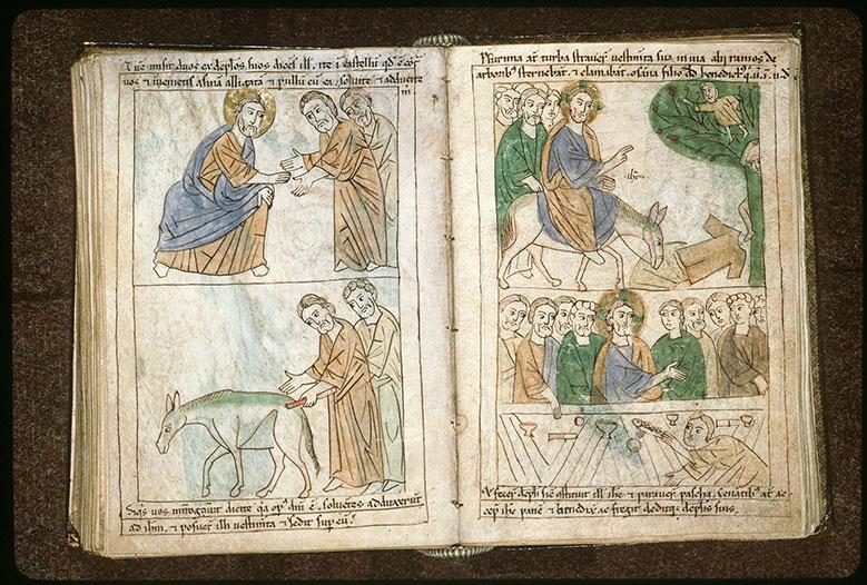 Bible en images - Entrée à Jérusalem_0