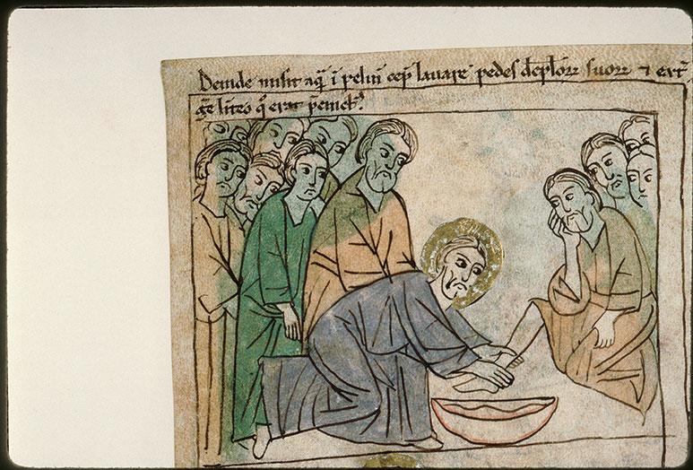 Bible en images - Lavement des pieds (Le)_0