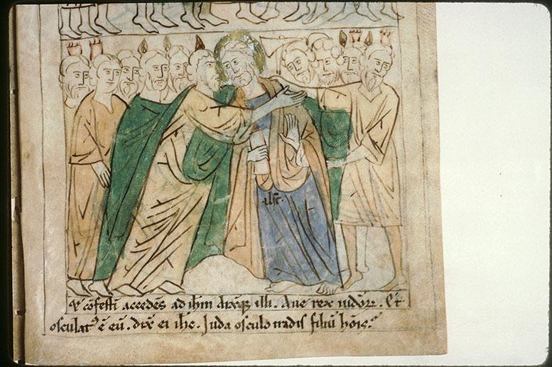 Bible en images - Baiser de Judas_0