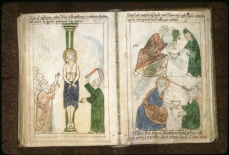 Bible en images - Pilate se lavant les mains_0