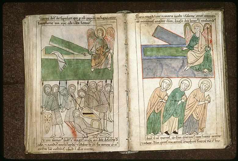 Bible en images - Saintes Femmes au tombeau_0