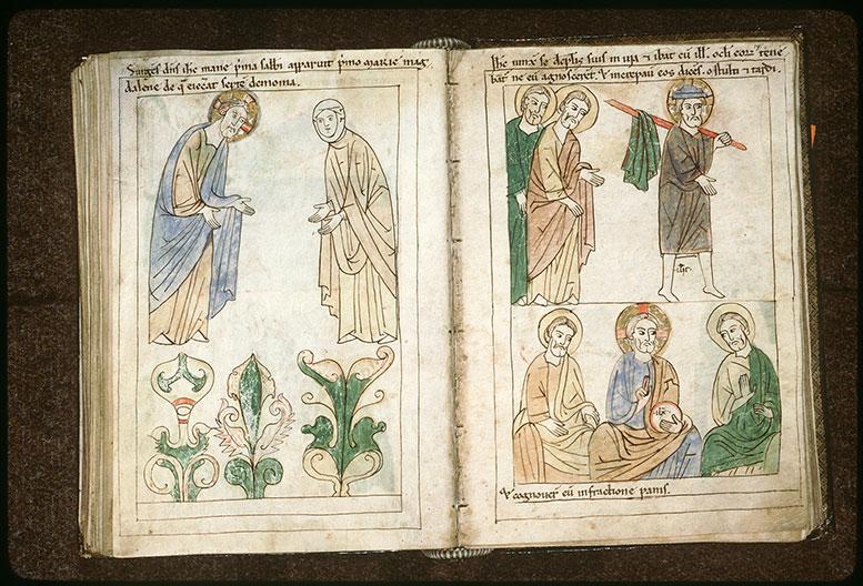 Bible en images - Repas à Emmaüs_0
