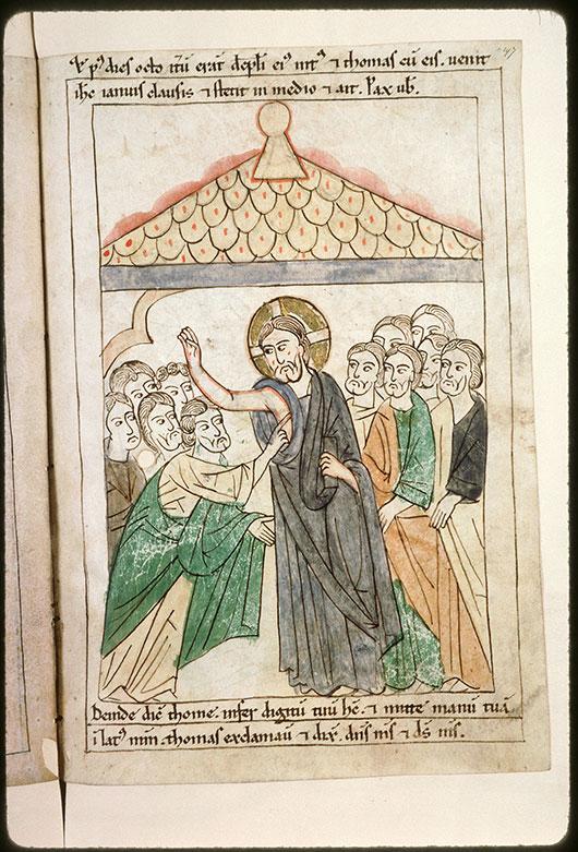 Bible en images - Apparition à Thomas_0