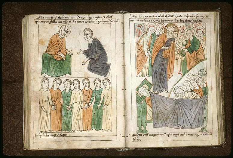 Bible en images - Mort de la Vierge_0