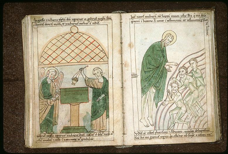 Bible en images - Saint Jean-Baptiste baptisant_0