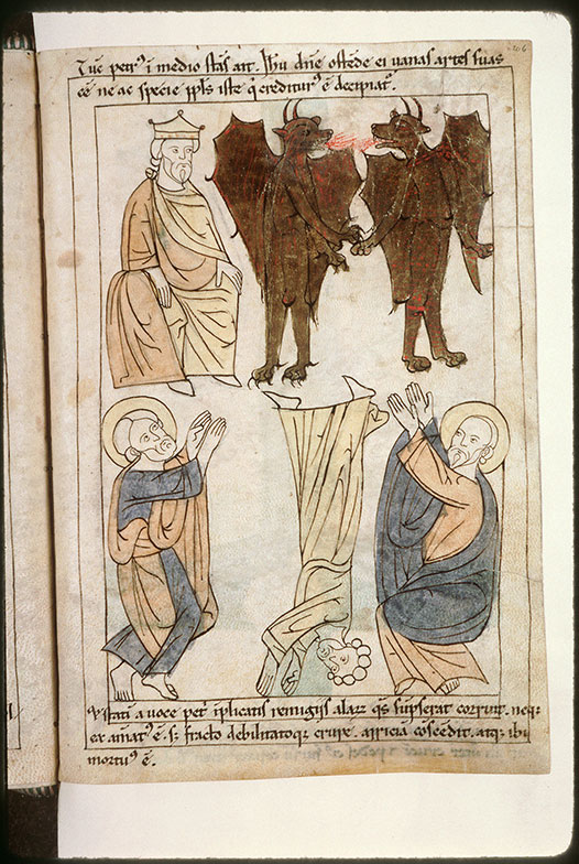 Bible en images - Chute de Simon le Magicien_0