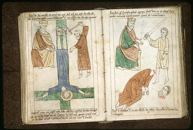Bible en images - Néron et la décollation de saint Paul_0