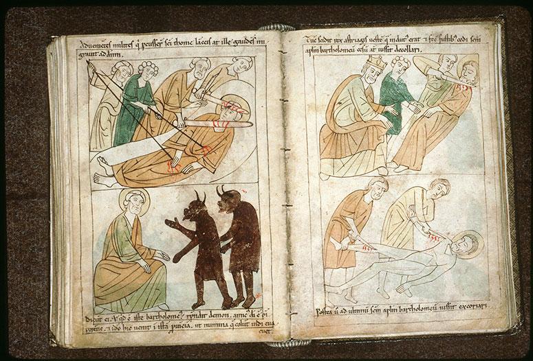 Bible en images - Ecorchement de saint Barthélemy_0