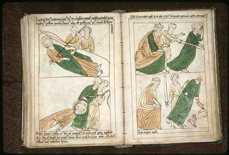 Bible en images - Néron et le martyre de saint Barnabé_0