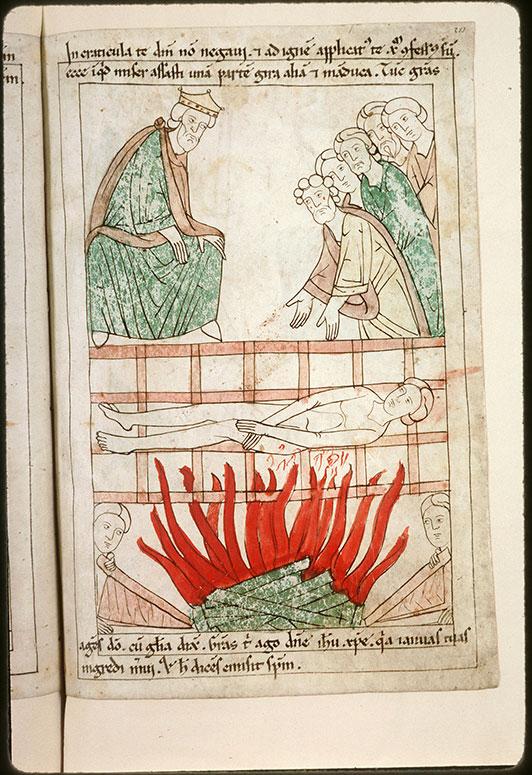 Bible en images - Dèce et le martyre de saint Laurent_0