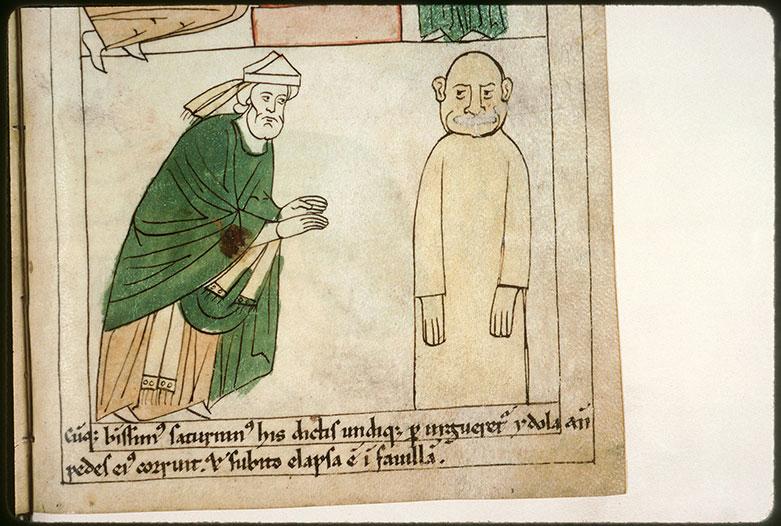 Bible en images - Saint Sernin renversant une idole_0