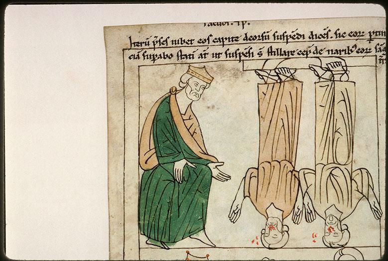 Bible en images - Atticus et la pendaison de saint Facond et de saint Primitif_0