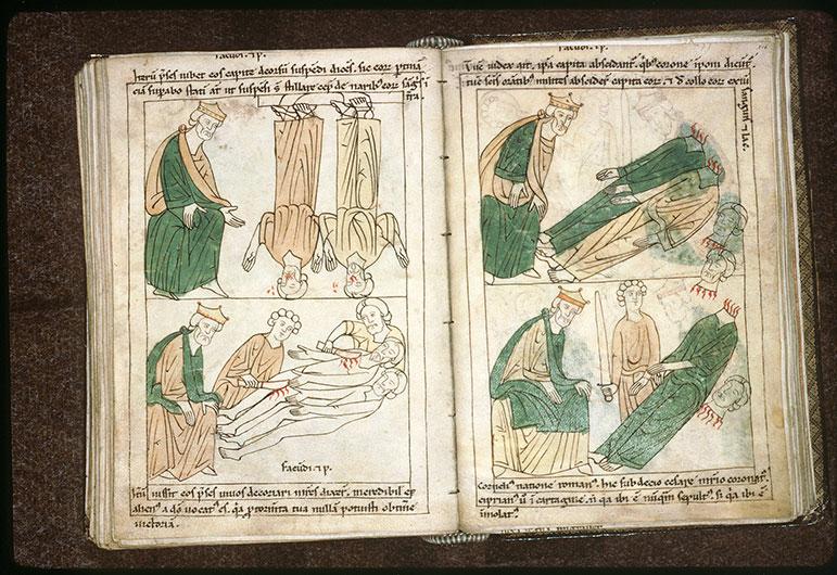 Bible en images - Dèce et la décollation de saint Corneille_0