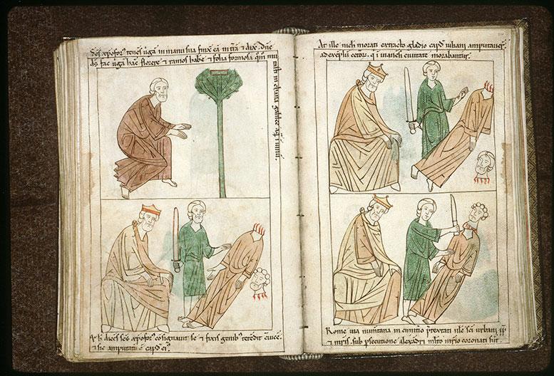 Bible en images - Dèce et la décollation de saint Christophe_0