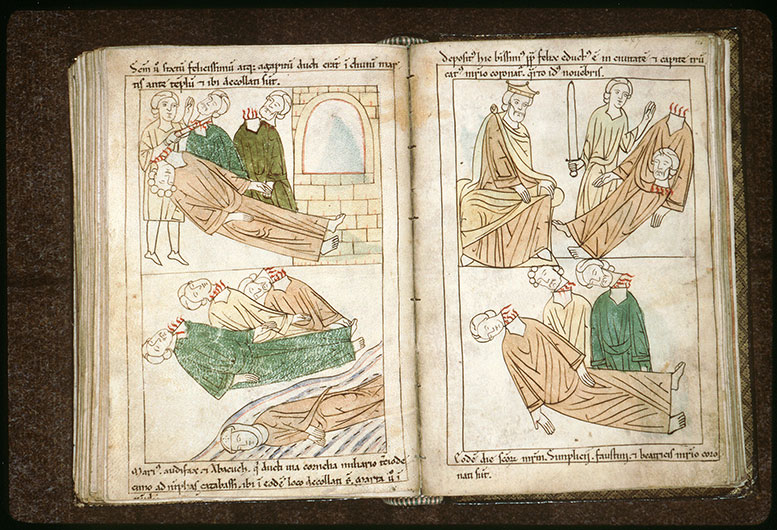 Bible en images - Constance II et la décollation de saint Félix II_0