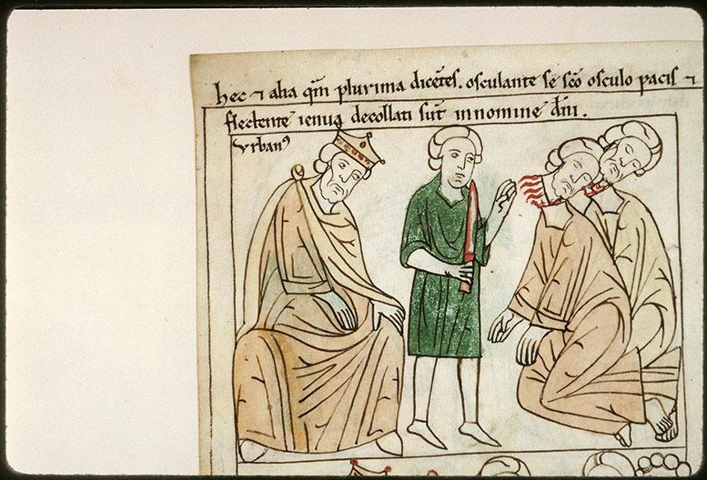 Bible en images - Décollation d'un saint Urbain et de son compagnon (à préciser)_0