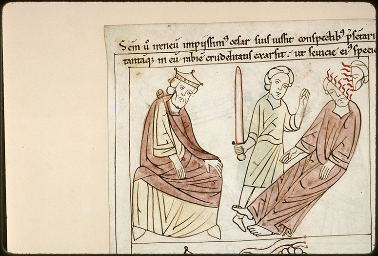 Bible en images - Septime Sévère et le martyre de saint Irénée_0