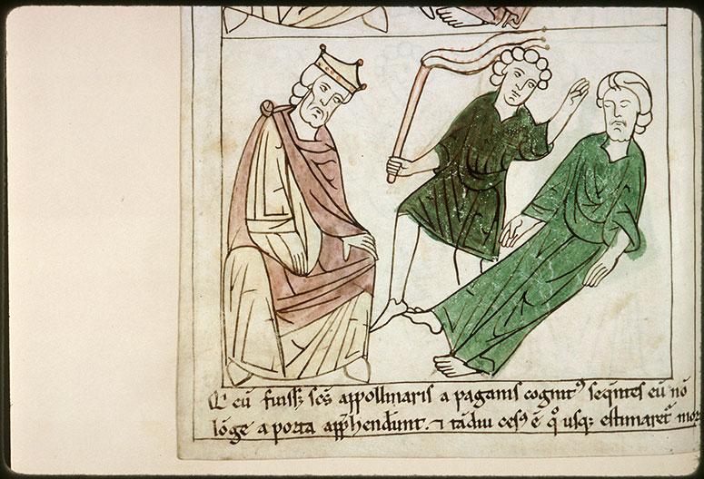 Bible en images - Vespasien et la flagellation de saint Apollinaire_0