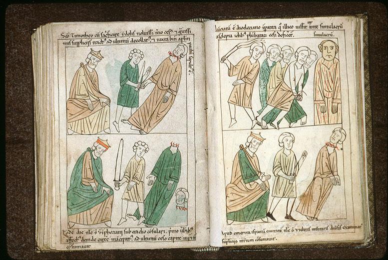 Bible en images - Aurélien et la décollation de saint Symphorien_0