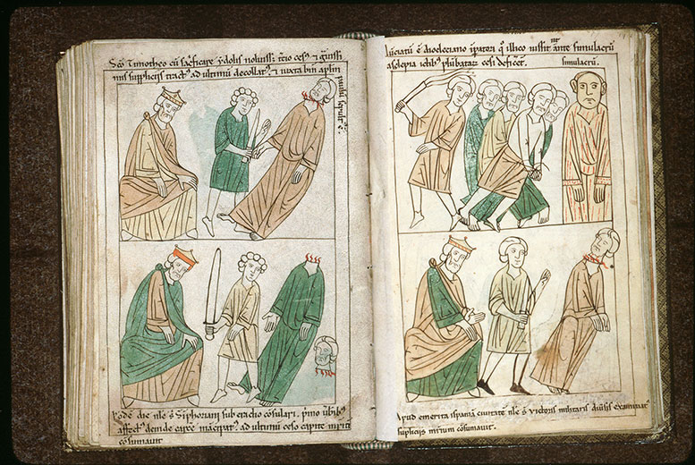 Bible en images - Dioclétien et le martyre de saint Victor de Mérida_0