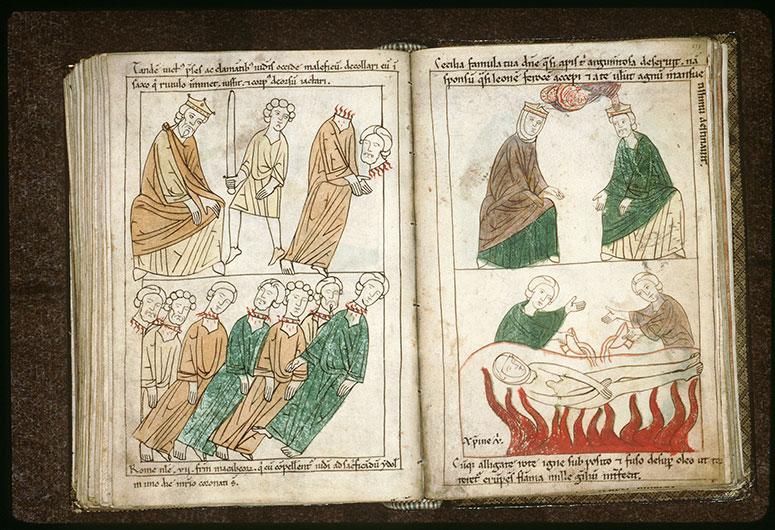 Bible en images - Empereur et la décollation de saint Pons_0