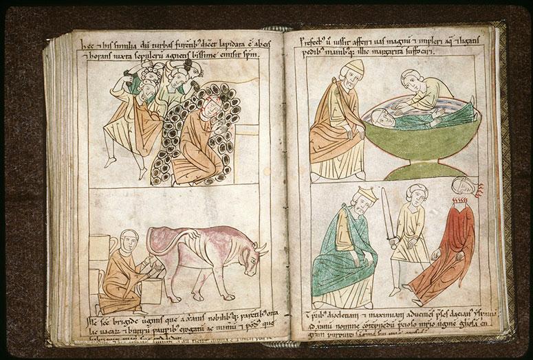 Bible en images - Préfet et martyre de sainte Marguerite_0