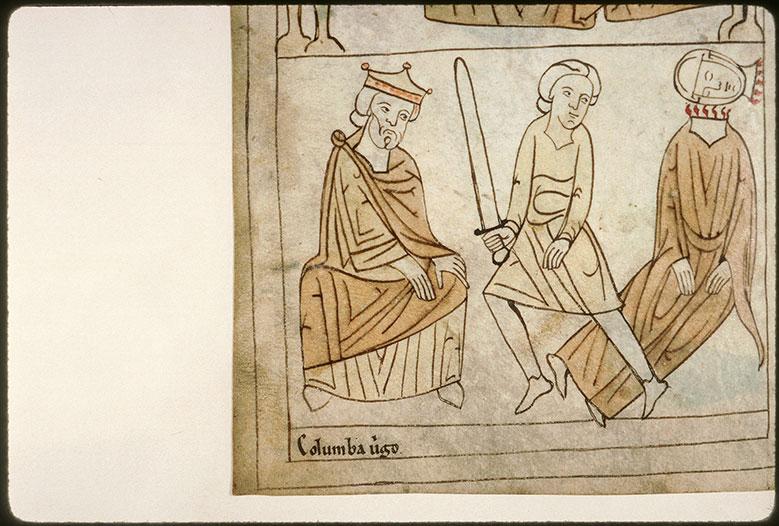 Bible en images - Aurélien et la décollation de sainte Colombe_0