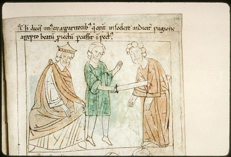 Bible en images - Martyre de saint Priest_0