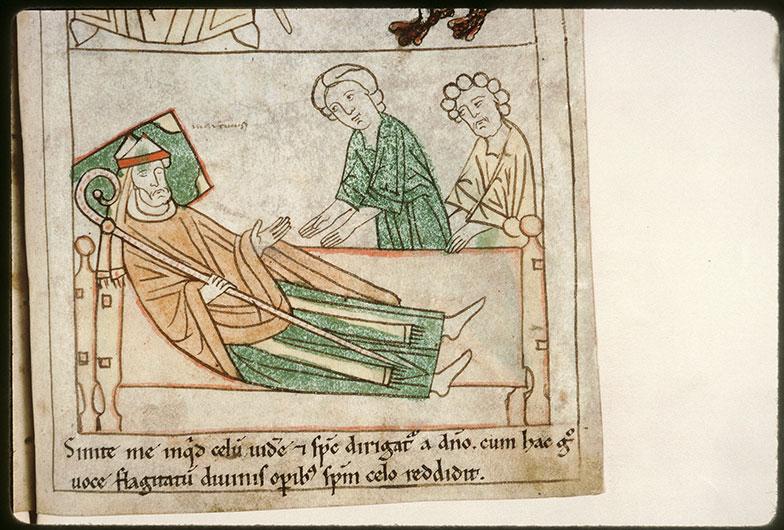 Bible en images - Mort de saint Martin_0