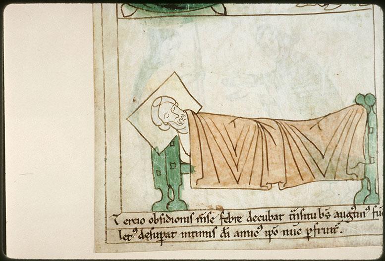 Bible en images - Mort de saint Augustin_0