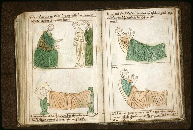 Bible en images - Mort de saint Martial_0