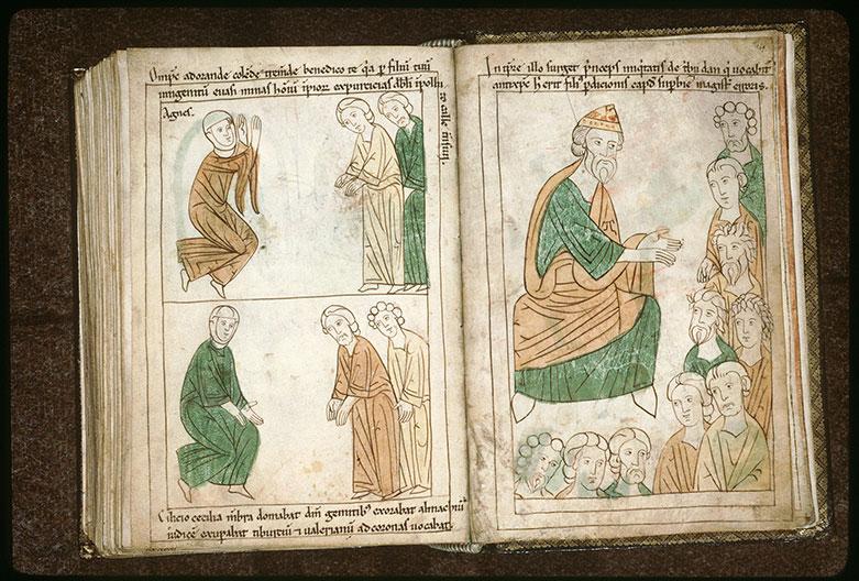 Bible en images - Sainte Cécile, saint Valérien et saint Tiburce_0