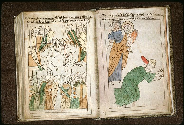 Bible en images - Batailles annonçant la fin du monde_0