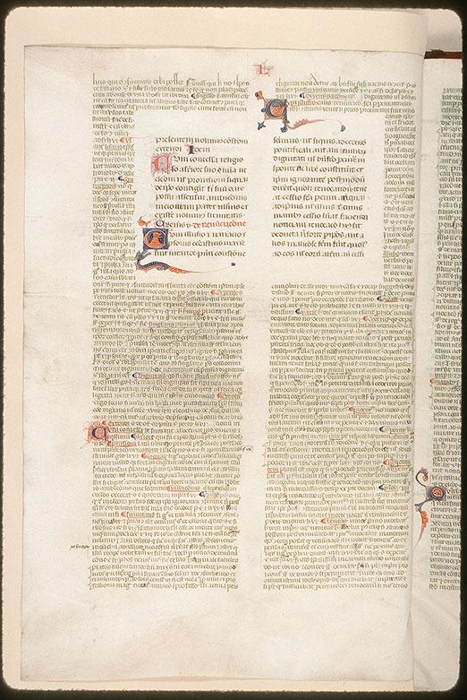 Constitutiones - Initiales ornées et filigranées_0