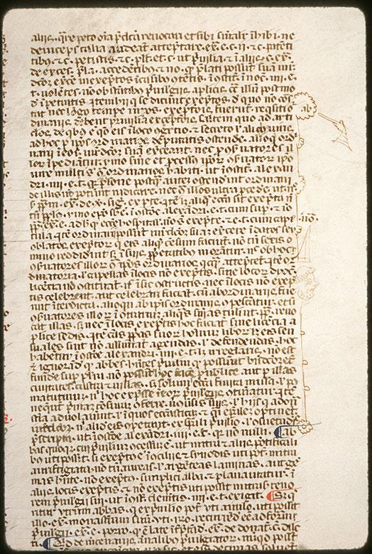 Speculum judiciale/Repertorium juris canonici - Signes codicologiques_0