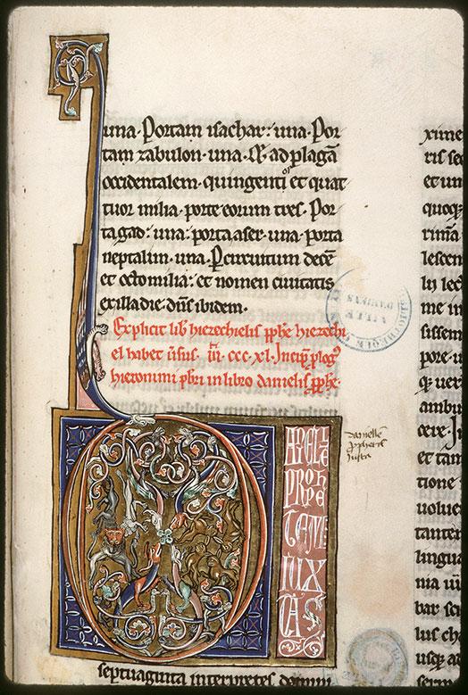 Bible (partie de) - Animaux et hybrides zoomorphes_0