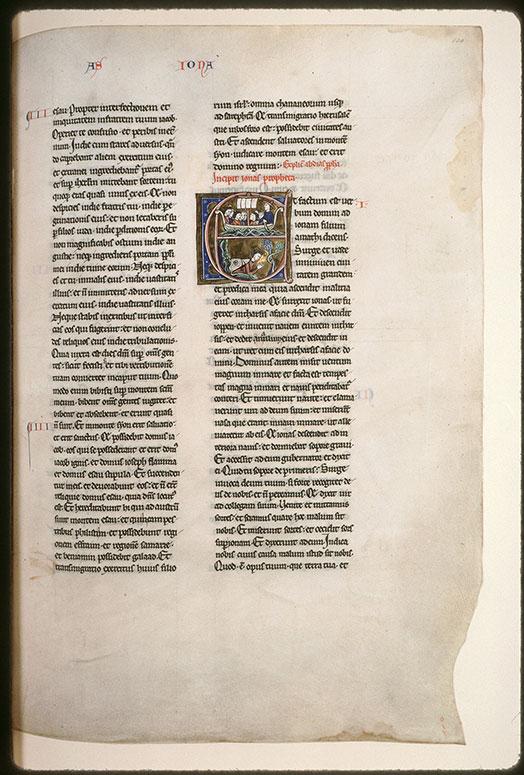 Bible (partie de) - Jonas naviguant/Jonas rejeté par le poisson devant le ricin de Ninive_0