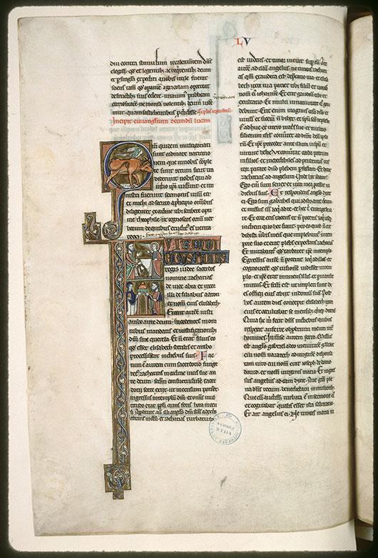 Bible (partie de) - Boeuf de saint Luc_0