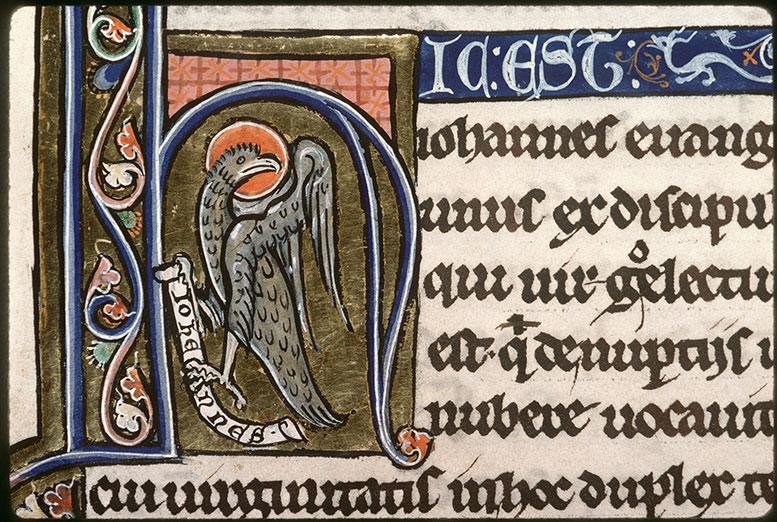 Bible (partie de) - Aigle de saint Jean_0