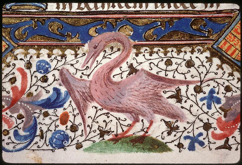Heures à l'usage de Paris - Page décorée, avec armes de Jacques de Rambures et de Marie de Berghes_0